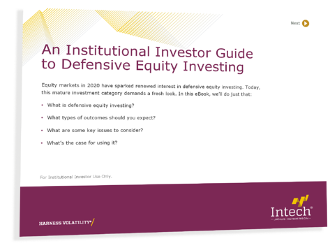 An Institutional Investor Guide to Defensive Equity Investing Cover