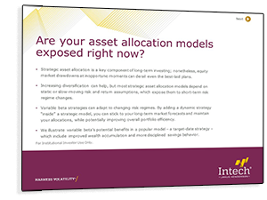 Are Your Asset Allocation Models Exposed Right Now