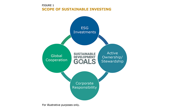 FIGURE 1: SCOPE OF SUSTAINABLE INVESTING