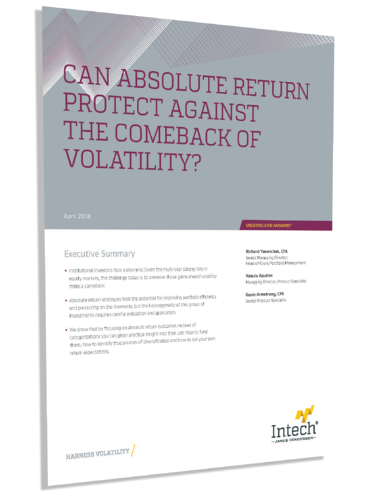Can Absolute Return Protect Against the Comeback of Volatility