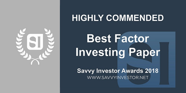 Savvy Best Factor Investing Paper 2018-1