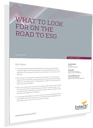 What to Look for on the Road to ESG