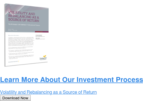 Learn More About Our Investment Process  Volatility and Rebalancing as a Source of Return Download Now